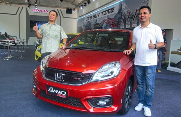 New Honda Brio RS dan Satya